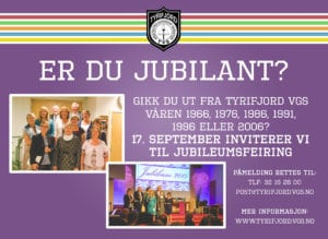 jubileum 2016 -Tyrifjord