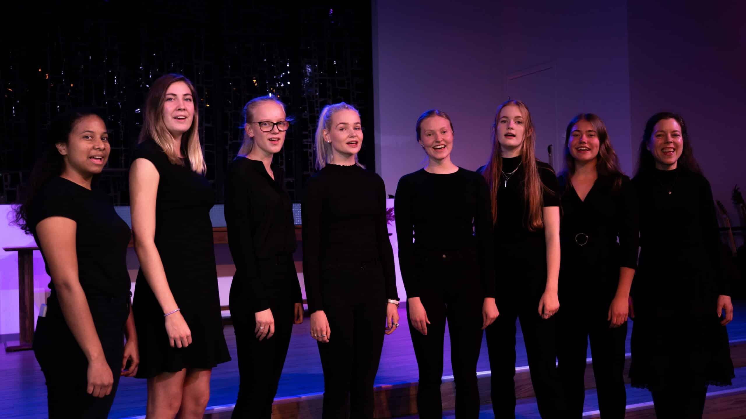 choir tyrifjord videregående skole